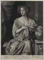 Hortense Mancini, Duchess of Mazarin, by Gerard Valck, after  Sir Peter Lely - NPG D30663