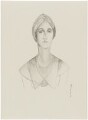 Sybil Rachel Betty (née Sassoon), Marchioness of Cholmondeley, after (Percy) Wyndham Lewis - NPG D32936