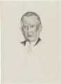 Sir Charles Blake Cochran, after (Percy) Wyndham Lewis - NPG D32937