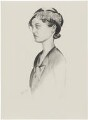 Margaret Cameron Flower (née Coss), after (Percy) Wyndham Lewis - NPG D32942