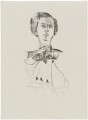 Dorothy Alexander (née Heinlein), Lady Harmsworth, after (Percy) Wyndham Lewis - NPG D32944