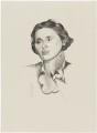 Dame Rebecca West (Cicily Isabel Andrews (née Fairfield)), after (Percy) Wyndham Lewis - NPG D32960