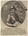 Thomas Venner, after Unknown artist - NPG D30681