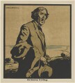 Sir Henry Irving, published by William Heinemann, after  Sir William Newzam Prior Nicholson - NPG D32972