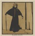 Sarah Bernhardt, published by William Heinemann, after  Sir William Newzam Prior Nicholson - NPG D32973