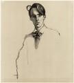 W.B. Yeats, by Sir William Rothenstein - NPG D32980