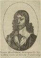 James Hamilton, 1st Duke of Hamilton, by Wenceslaus Hollar - NPG D33005