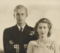 Prince Philip, Duke of Edinburgh; Queen Elizabeth II, by Dorothy Wilding - NPG x36018