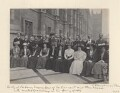 Labour Members of Parliament and their wives who visited Germany in the Spring of 1909' (including Ramsay MacDonald), by Sir (John) Benjamin Stone - NPG x36285