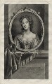 Mary of Modena, by Jean Audran, after  Adriaen van der Werff - NPG D30805