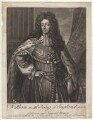 King William III, by Michael Ford, after  Sir Godfrey Kneller, Bt - NPG D9222