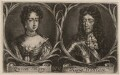 Queen Mary II; King William III, by Wallerant Vaillant, after  Unknown artist - NPG D9227