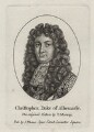 Christopher Monck, 2nd Duke of Albemarle, after Thomas Murray, published by  John Thane - NPG D30844