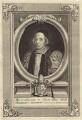 William Sancroft, by George Vertue, after  David Loggan - NPG D30875
