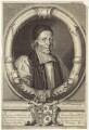 William Sancroft, by Michael Vandergucht, after  Edward Lutterell (Luttrell), after  Robert White - NPG D30877