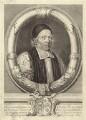 William Sancroft, by Robert White, after  Edward Lutterell (Luttrell) - NPG D30881