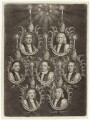The Seven Bishops Committed to the Tower in 1688, possibly published by John Smith, after  Unknown artist - NPG D30898