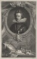 Henry, Prince of Wales, by Jacobus Houbraken, published by  John & Paul Knapton, after  Isaac Oliver - NPG D33024