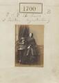 Princess Adelheid of Hohenlohe-Langenburg, by Camille Silvy - NPG Ax51093
