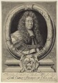 Sir Robert Wright, by Robert White, after  John Riley, published by  John Smith - NPG D30925