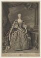 Augusta of Saxe-Gotha, Princess of Wales, by Bernard Baron, after  Jean Baptiste van Loo - NPG D33036
