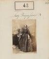 Lady Edith Christian Fergusson (née Ramsay), by Camille Silvy - NPG Ax50035