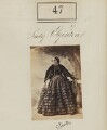Adela Caroline Harriet (née Capel), Countess of Eglinton, by Camille Silvy - NPG Ax50039