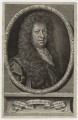 Samuel Pepys, by Robert White, after  Sir Godfrey Kneller, Bt - NPG D30958