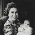 Queen Elizabeth II; Peter Phillips, by Lord Snowdon - NPG x29572