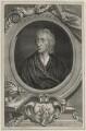 John Locke, by George Vertue, after  Sir Godfrey Kneller, Bt - NPG D30980