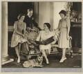 Princess Margaret; King George VI; Queen Elizabeth, the Queen Mother; Queen Elizabeth II, by Dorothy Wilding - NPG x12137