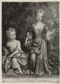 Countess of Sunderland and Duchess of Marlborough, by and published by John Smith, after  Sir Godfrey Kneller, Bt - NPG D31007