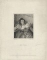 Eliza Chester as Beatrice in 'Much Ado About Nothing', by John Cochran, after  Alfred Edward Chalon - NPG D33064