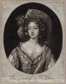 Elizabeth Fitzgerald (née Jones), Countess of Kildare, by Robert Williams, published by  Edward Cooper, after  Willem Wissing - NPG D31034