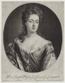 Queen Anne when Princess of Denmark, probably by Isaac Beckett, published by  John Savage, after  Sir Godfrey Kneller, Bt - NPG D31058