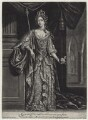 Queen Mary II, by and published by Jacob Gole - NPG D31068