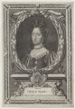 Queen Mary II, by Antoine Trouvain, after  Sir Godfrey Kneller, Bt - NPG D31071