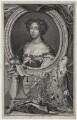 Queen Mary II, by Jacobus Houbraken, after  Caspar Netscher - NPG D31074