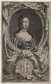 Queen Mary II, by Jacobus Houbraken, published by  John & Paul Knapton, after  Sir Godfrey Kneller, Bt - NPG D31075