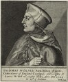 Thomas Wolsey, by William Marshall, after  Unknown artist - NPG D33081