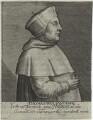 Thomas Wolsey, by Magdalena de Passe, by  Willem de Passe - NPG D33083