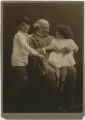 Hardinge Stanley Giffard, 1st Earl of Halsbury and his grandchildren, by (Mary) Olive Edis (Mrs Galsworthy) - NPG x131721