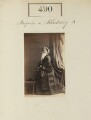 Mary Caroline (née Herbert), Marchioness of Ailesbury, by Camille Silvy - NPG Ax50205