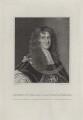 Aubrey de Vere, 20th Earl of Oxford, by Schenecker, after  Silvester Harding - NPG D31108