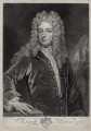 Joseph Addison, by John Faber Jr, after  Sir Godfrey Kneller, Bt - NPG D33126