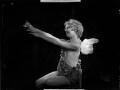 Helen ('Bunty') Kelley (later Bernstein) as Cupid in 'Queen of Hearts', by Bassano Ltd - NPG x153491