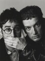David Baddiel; Frank Skinner, by Trevor Leighton - NPG x87552