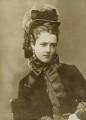 Georgina Elizabeth Ward (née Moncreiffe), Countess of Dudley, by Alexander Bassano - NPG x85786