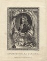 Edward Russell, Earl of Orford, by Thomas Cook, published by  George Kearsley, after  Sir Godfrey Kneller, Bt - NPG D31209