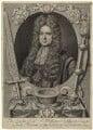 Sir William Ashhurst, by Robert White, after  J. Linton - NPG D31219